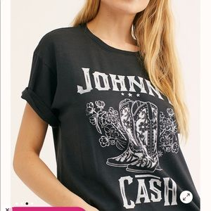 Daydreamer for free  people Johnny Cash Tee